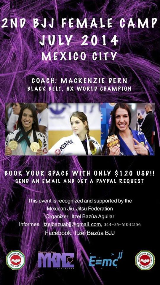 Ladies Jiu Jitsu Training Camp
